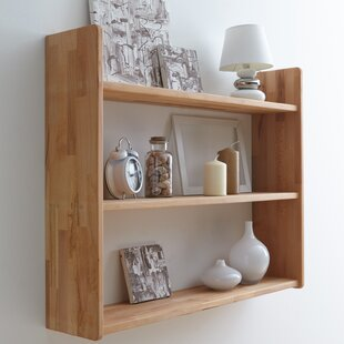 Dark Wood Floating Shelves | Wayfair.co.uk