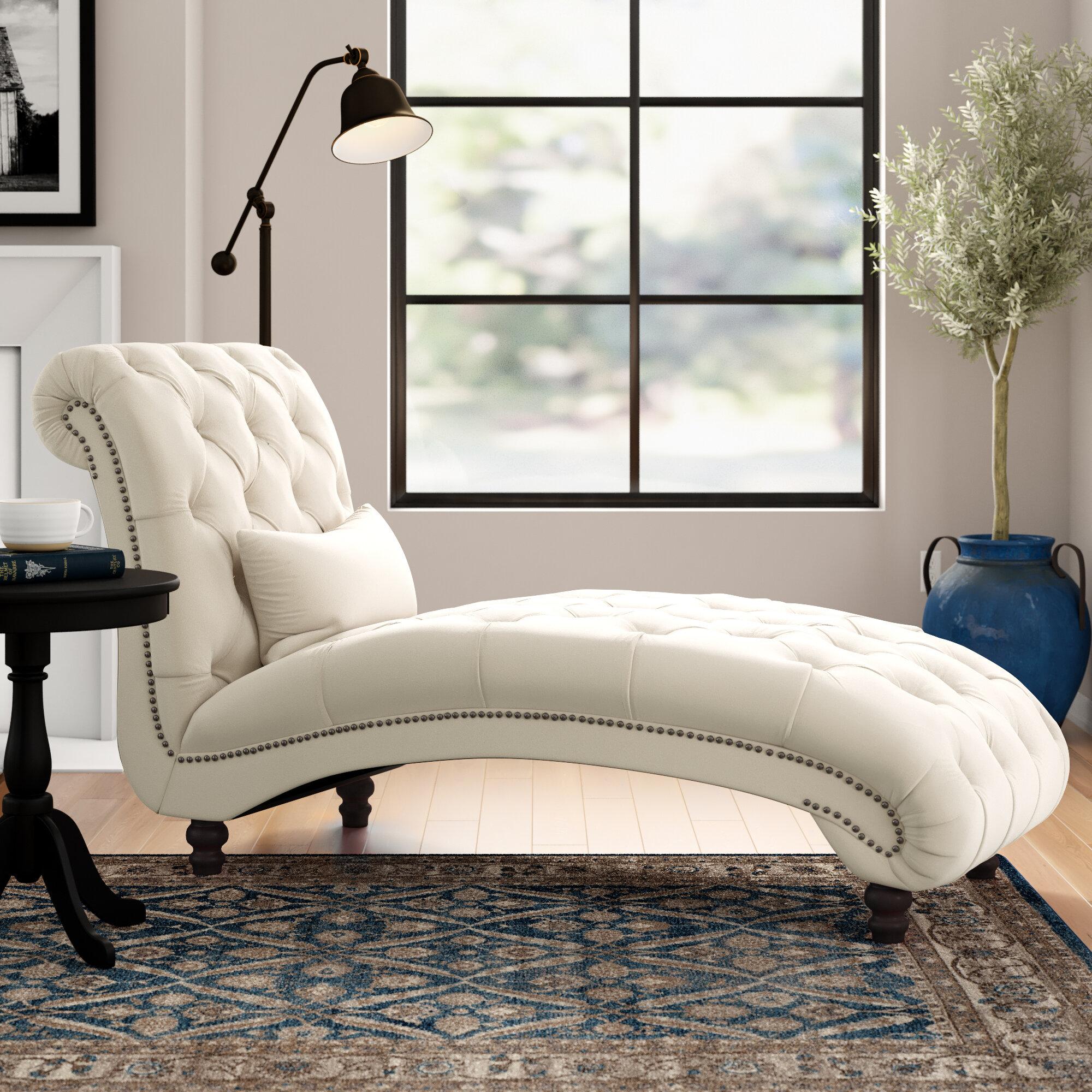 - Three Posts Huskins Tufted Chaise Lounge & Reviews Wayfair