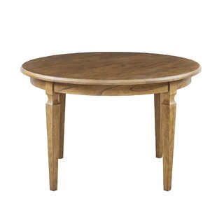 Glen Ellen Round Solid Wood Dining Table by Harbor House 2019 Sale