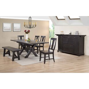 Rum Point Extendable Solid Wood Dining Table ECI Furniture