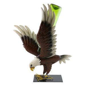Adhemar Bald Eagle 1 Bottle Tabletop W..