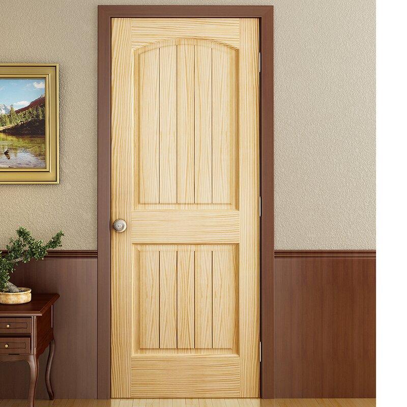 Genial Colonial 2 Panel Solid Pine Slab Interior Door