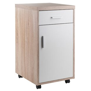 Midway 1-Drawer Mobile Vertical Filing Cabinet