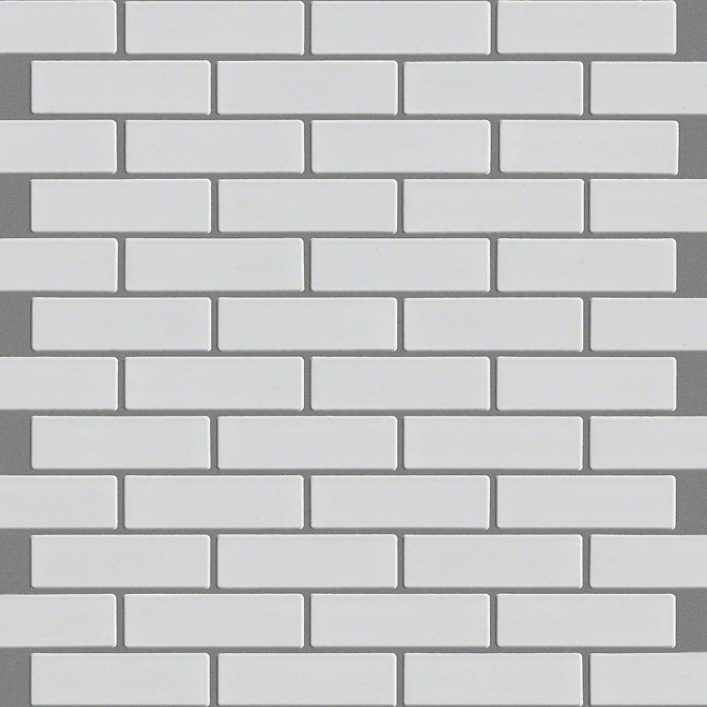 sophisticated mini 1 x 3 porcelain brick joint mosaic tile