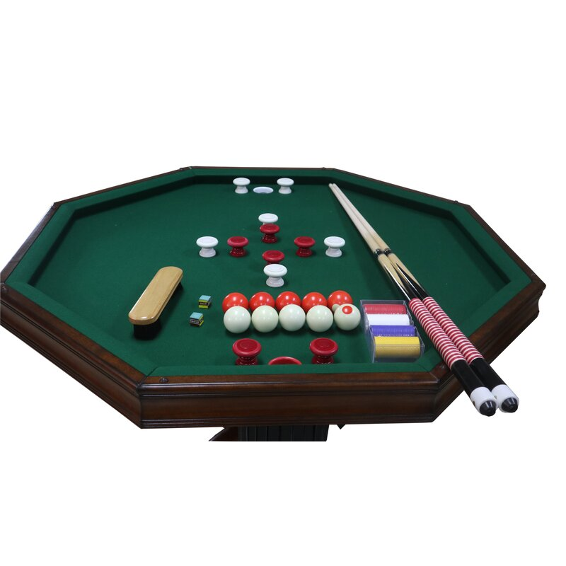 Berner Billiards 8 - Player Poker Table with Chairs | Wayfair