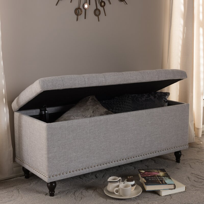 Stupendous Cairo Tufted Storage Ottoman Andrewgaddart Wooden Chair Designs For Living Room Andrewgaddartcom