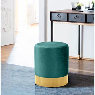 Reviews Fredson Velvet Ottoman By Mercer41
