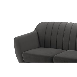 Reviews Shaftsbury Standard Loveseat by George Oliver Reviews (2019) & Buyer's Guide