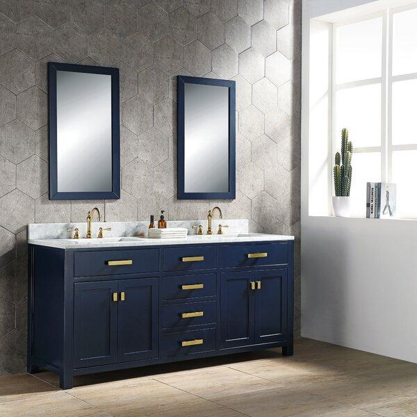 Rosecliff Heights Crisler 72 Quot Double Bathroom Vanity Set