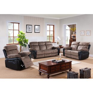Shop For Configurable Reclining Living Room Set by Wildon Home® Reviews (2019) & Buyer's Guide