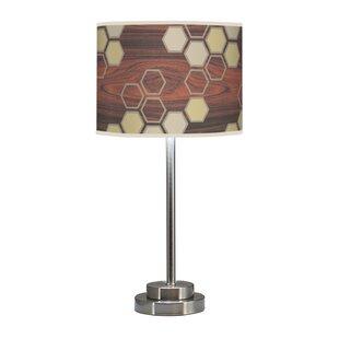 Organic Modern Hex Stem 24 Table Lamp