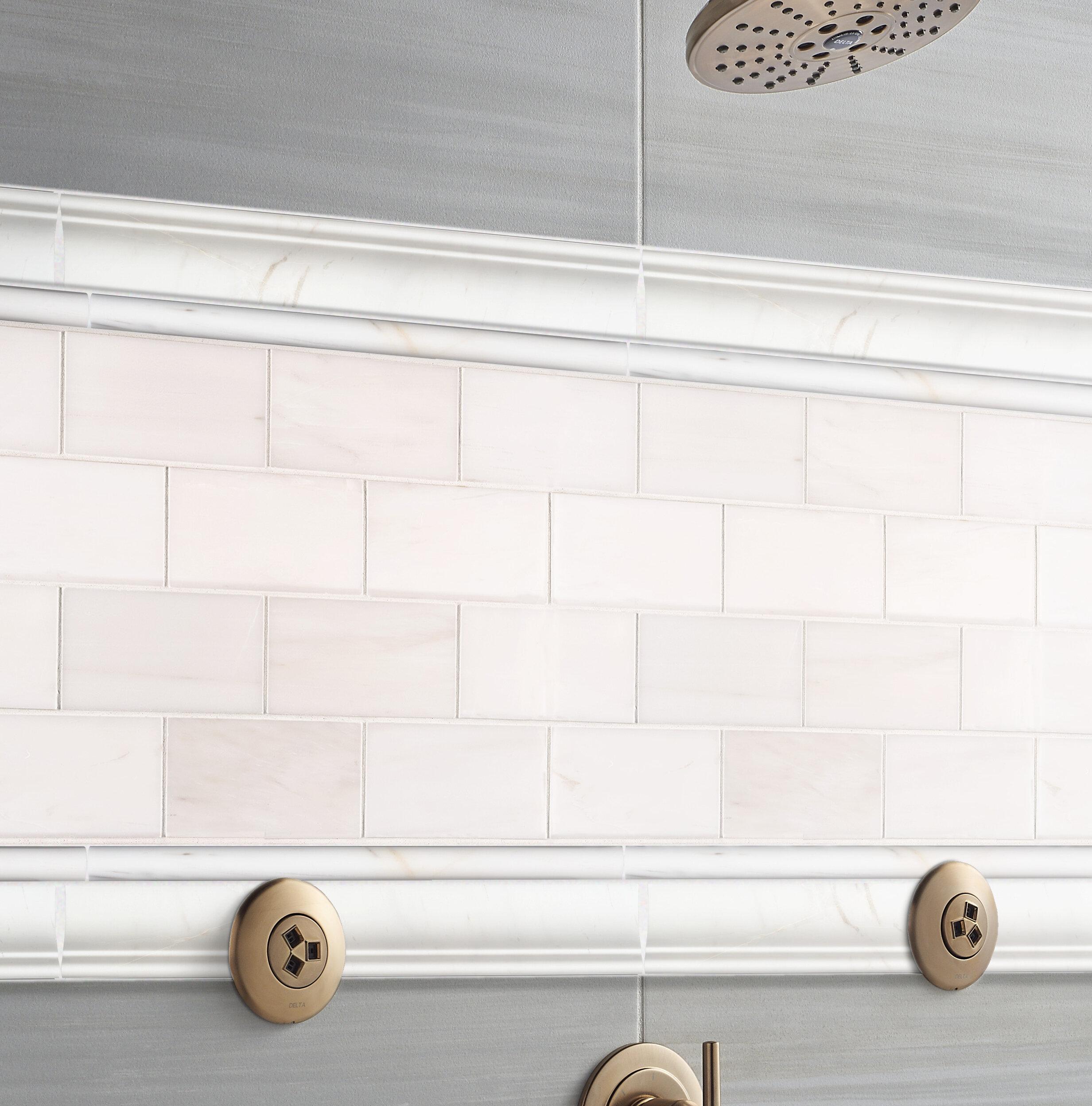 Msi 16 X 4 Ceramic Bullnose Tile Trim