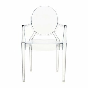 Ghost Stacking Patio Dining Chair (Set of 4)