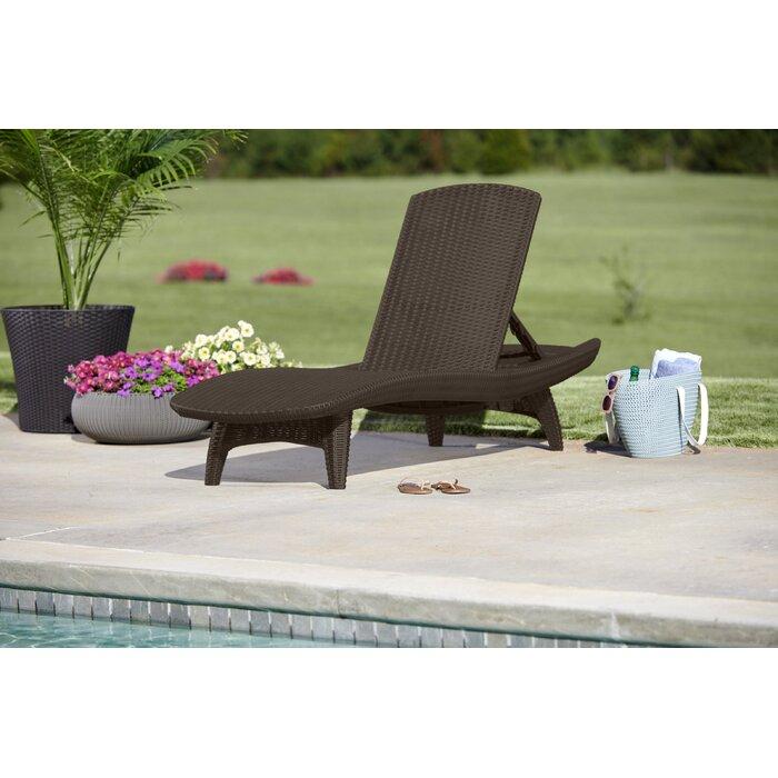 Clarita Sun Reclining Chaise Lounge