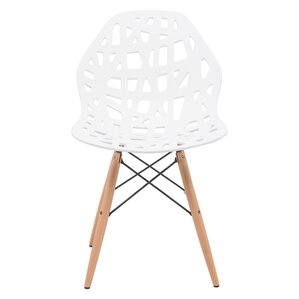 Akron Solid Wood Dining Chair (Set of 2) ..