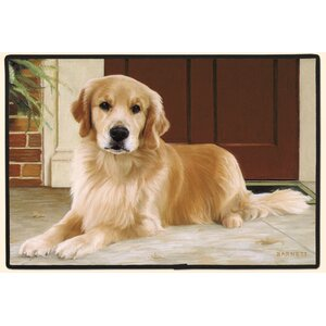 Golden Retriever Porch Doormat