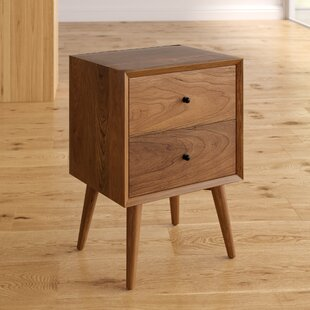 Parocela 2 Drawer Nightstand Langley Street