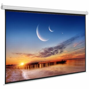Motorized White 92 Electric Projection Screen