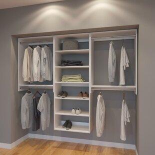 Bargain Cody 90 W Organizer Closet System (Set of 3) By Rebrilliant