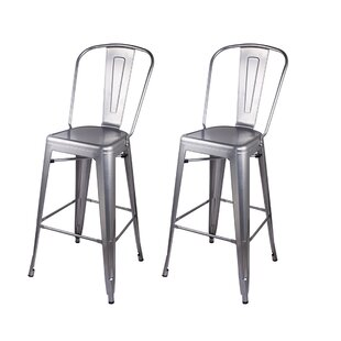Zackery 30 Bar Stool (Set of 2) by 17 Stories