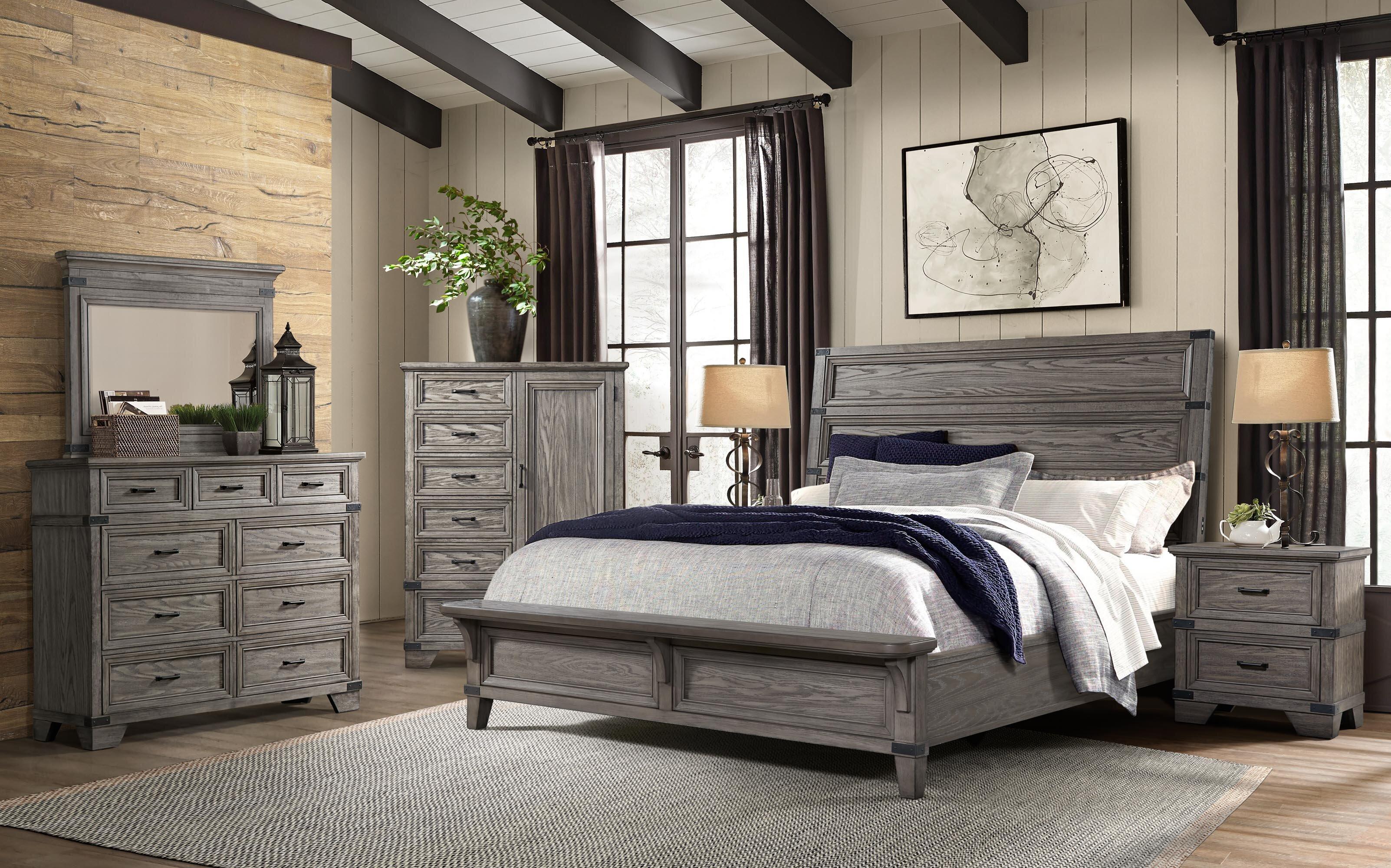 Palmateer Platform Configurable Bedroom Set