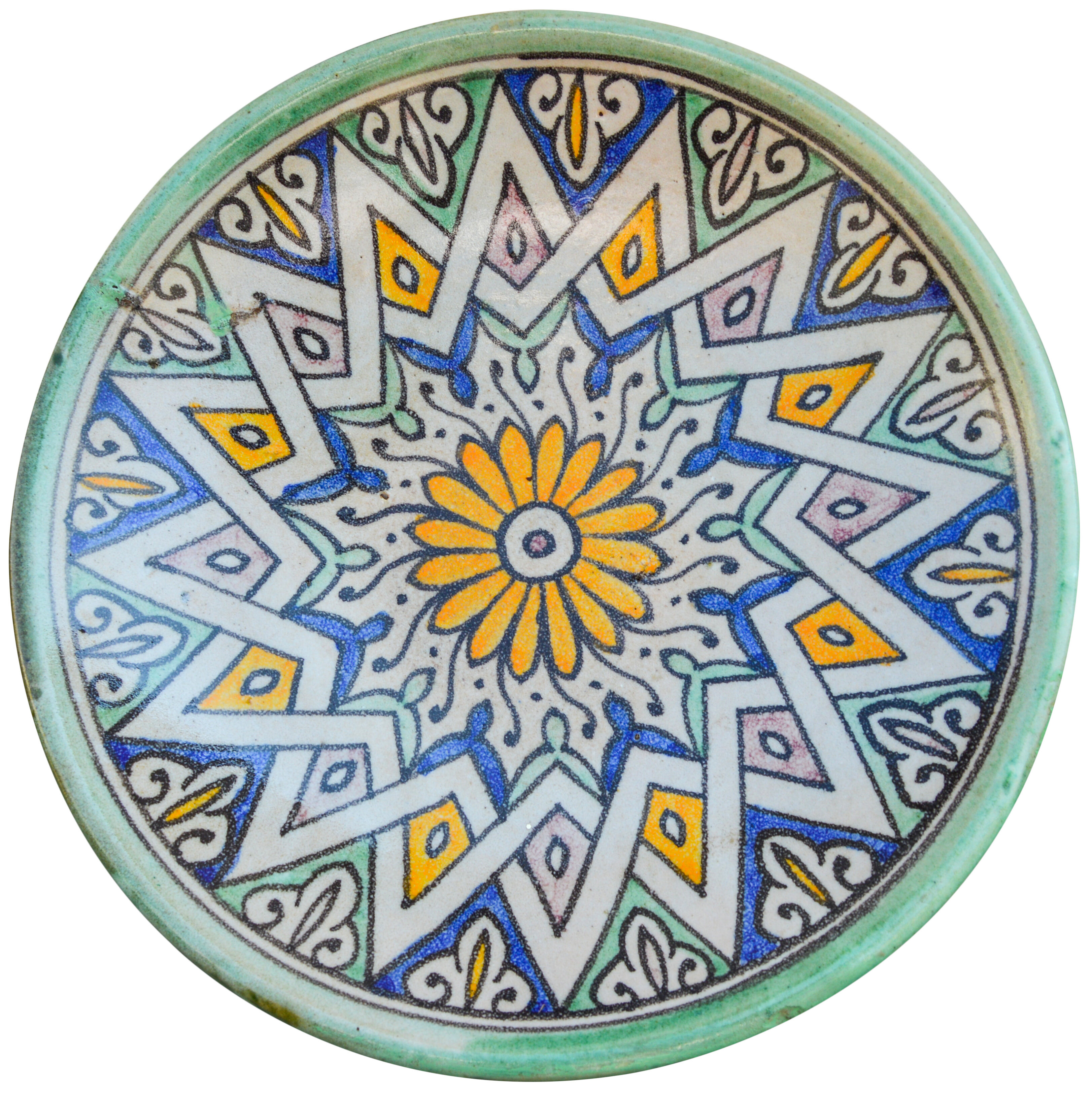 Abstract Yellow Decorative Plates Bowls You Ll Love In 2021 Wayfair