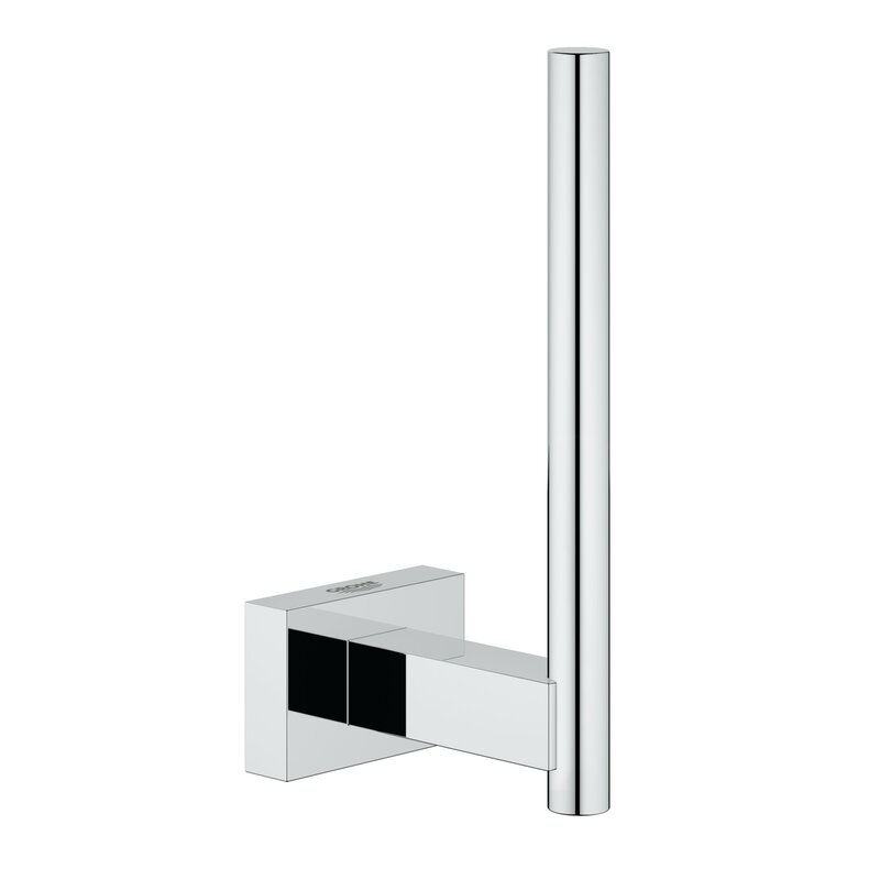 In Wall Toilet Paper Holder grohe essentials wall mounted toilet paper holder & reviews | wayfair