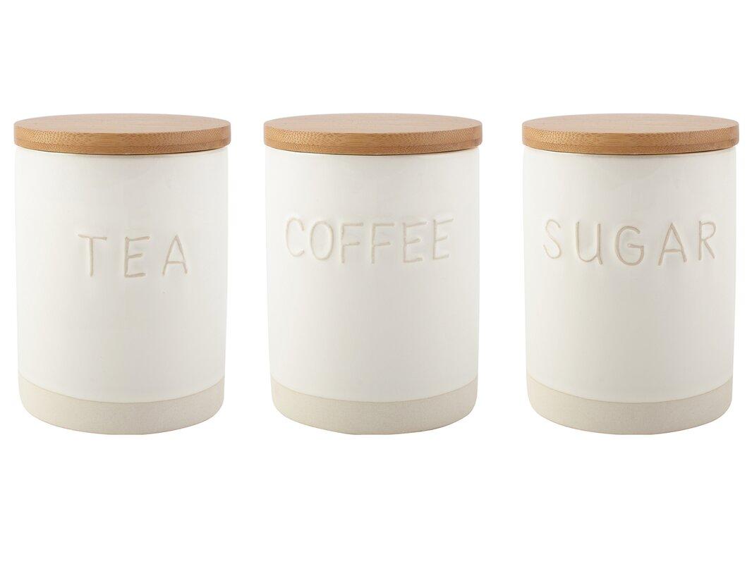 Origins Coffee Tea Sugar Jar