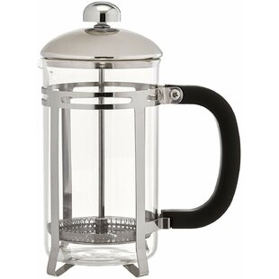2-Cup Glass French Press Coffee Maker