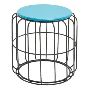 Vasbinder Metal Side Table