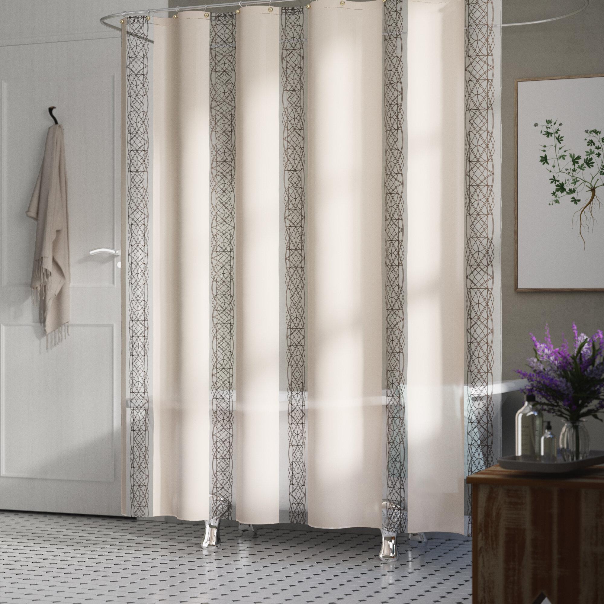 Chloe Fabric Single Shower Curtain