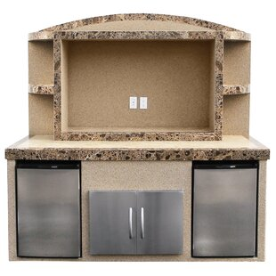 Tia Outdoor Entertainment Center Serving Bar by Freeport Park