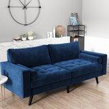 Edvin Velvet 69'' Square Arm Sofa by Corrigan Studio®