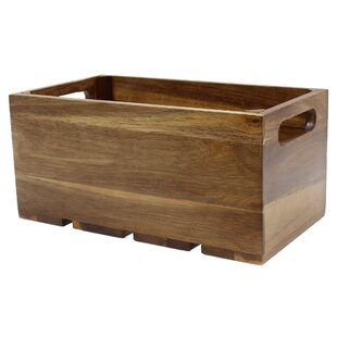 Small Wood Storage Containers Youll Love Wayfair