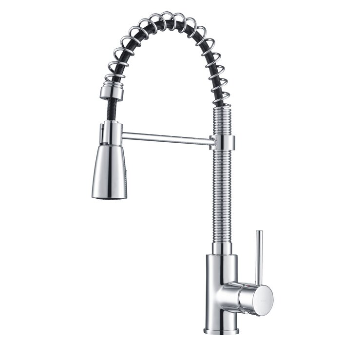Remarkable Pull Down Single Handle Kitchen Faucet Download Free Architecture Designs Photstoregrimeyleaguecom