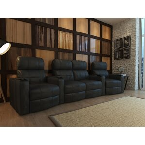 Red Barrel Studio Home Theater Loveseat (Row of 4) Image