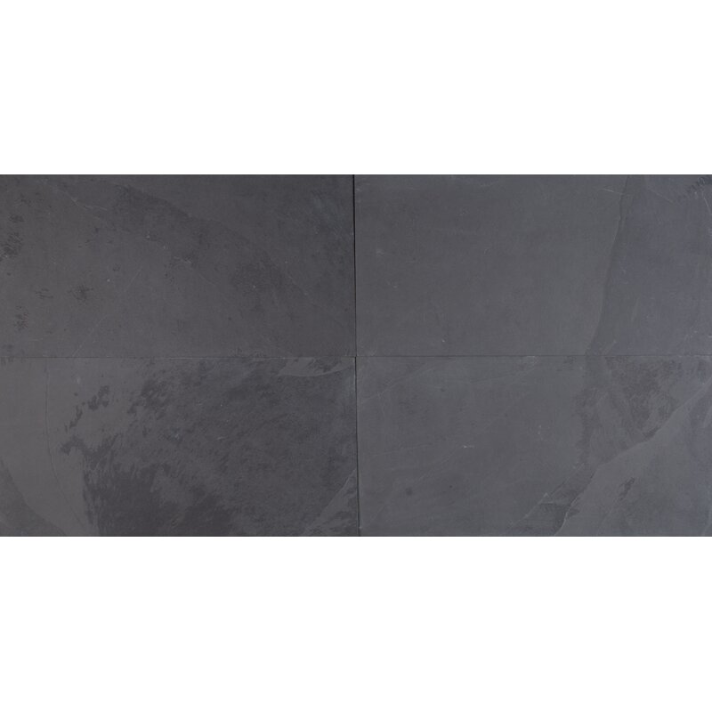 MSI Montauk X Slate Field Tile In Black Reviews Wayfair - 18 x 24 slate tile