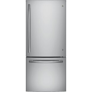 21 cu. ft. Energy Star® Bottom Freezer Refrigerator