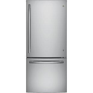 21 cu. ft. Energy Star® Bottom Freezer Refrigerator by GE Appliances