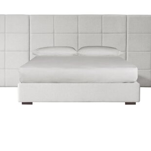 Looking for Bobb Upholstered Panel Bed by Orren Ellis Reviews (2019) & Buyer's Guide