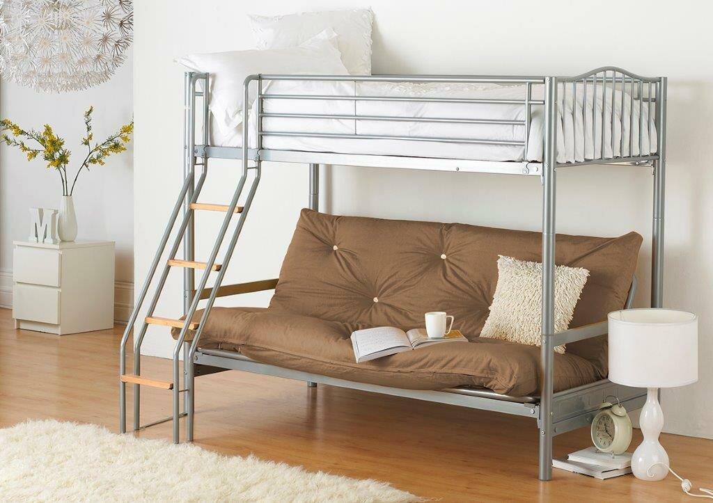 Just Kids Halkyn Single Futon Bunk Bed