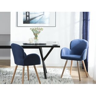 Bartel Upholstered Dining Chair (Set of 2) George Oliver