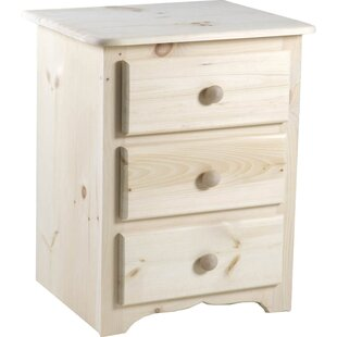 Langston 3 Drawer Nightstand