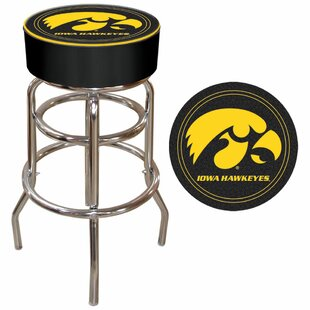 Iowa State 31 Swivel Bar Stool Trademark Global