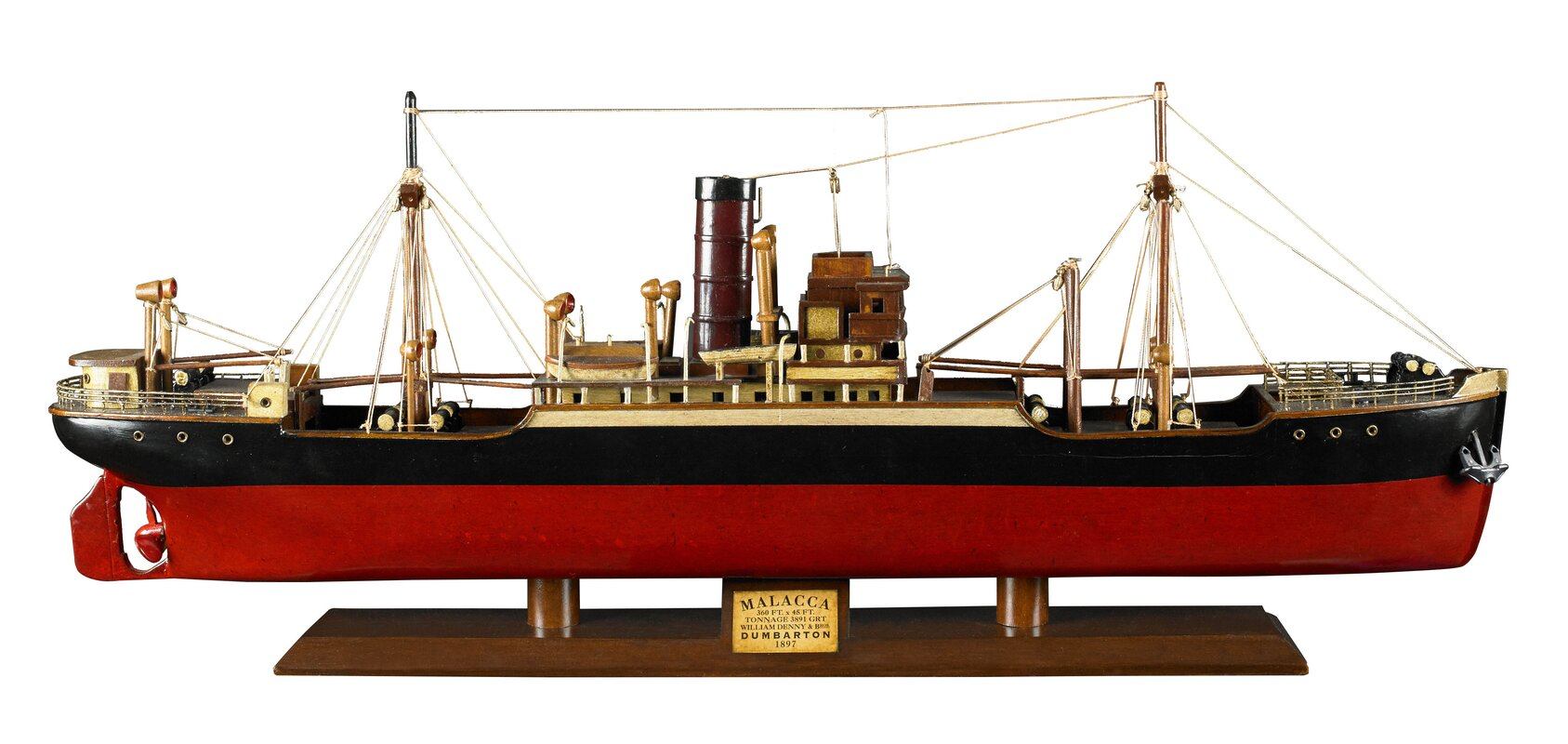 Authentic Models Tramp Steamer Malacca Model Boat
