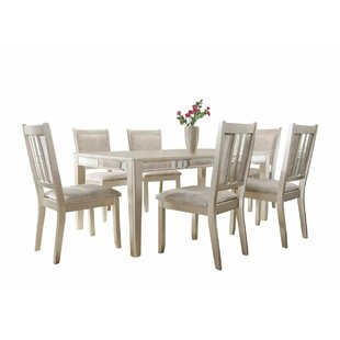 Harmony 7 Piece Standard Height Dining Set House of Hampton
