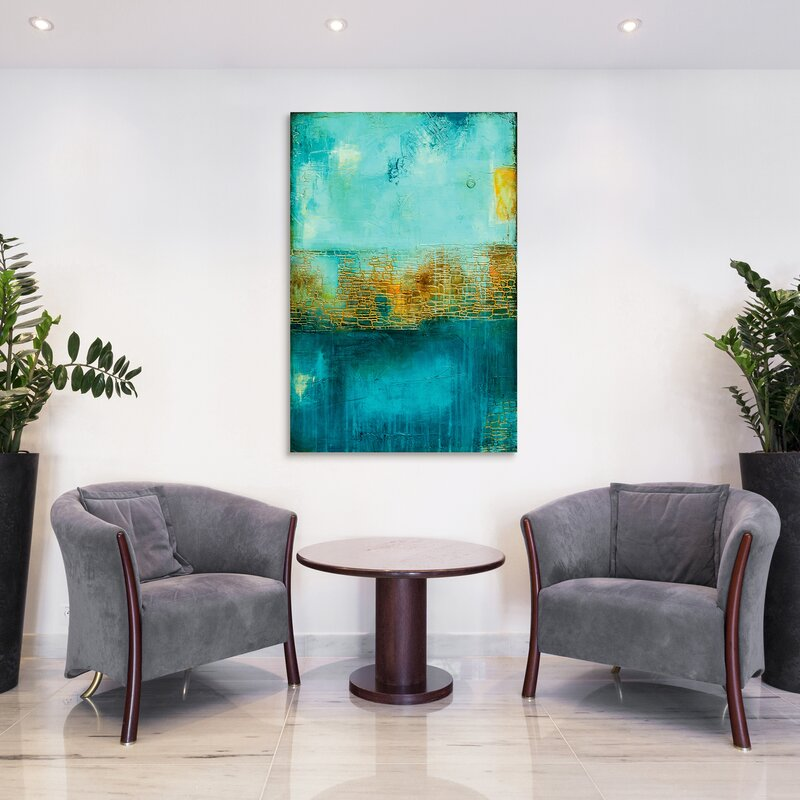 Glass Wall Decoration - 'Castle Court' Print on Glass