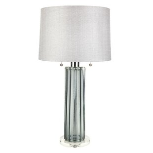 Sandhurst Fluted 28 Table Lamp