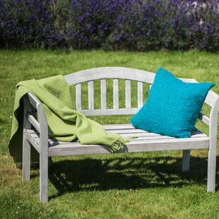 Alanson Wooden Bench by Lynton Garden