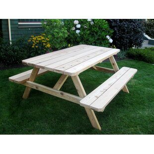 Shopping for Connerton Wooden Picnic Table Online Reviews